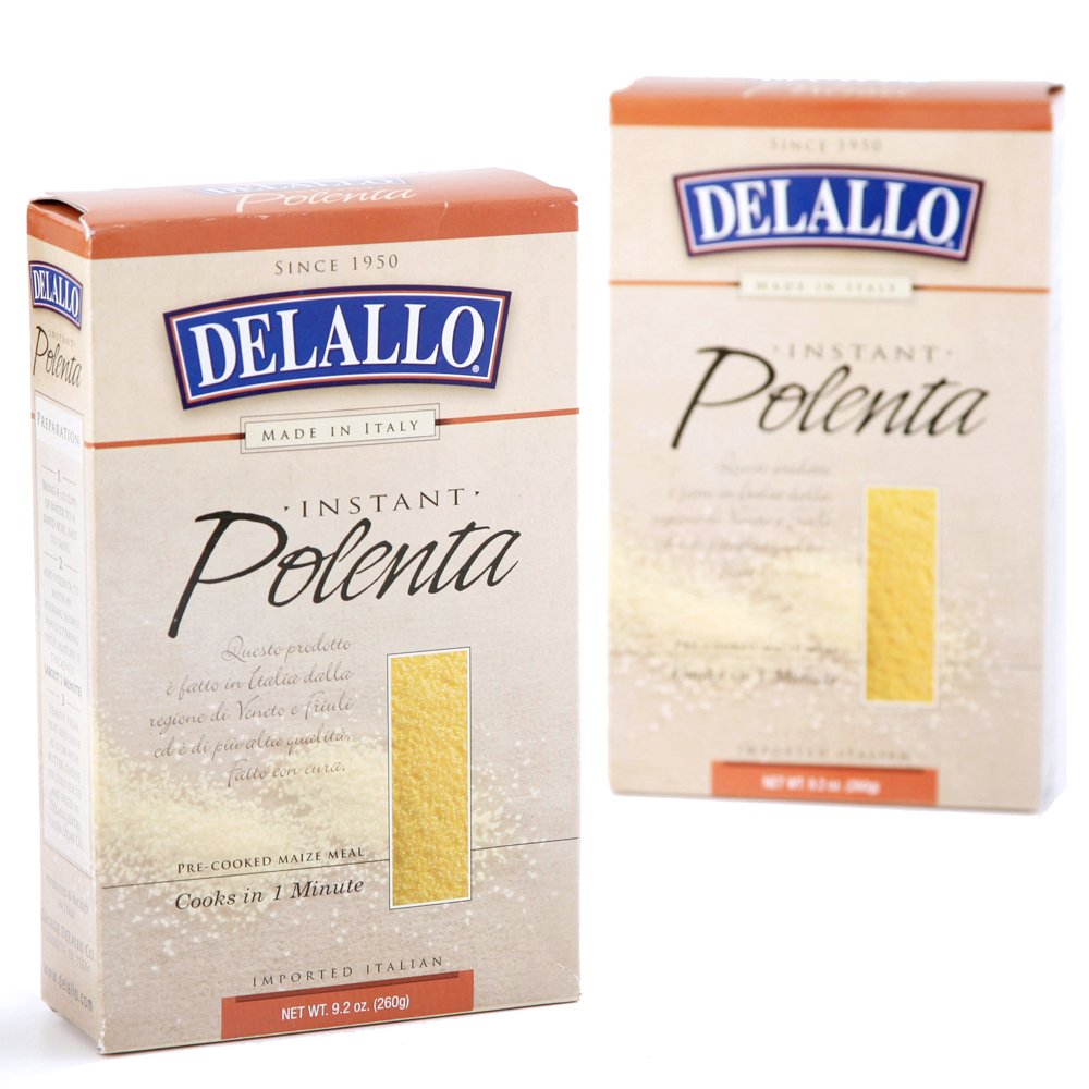 DeLallo Instant Polenta, 9.2-Ounce Units (Pack of 12)