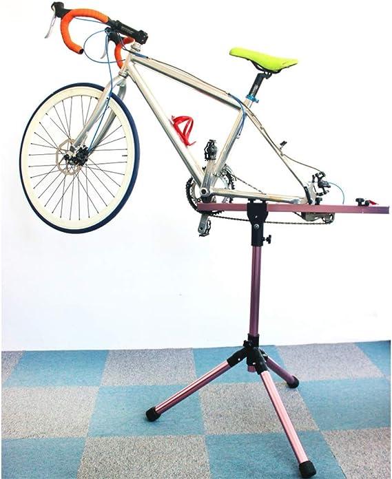 ZXXxxZ Soporte de Bicicleta, Altura Ajustable Soporte de ...