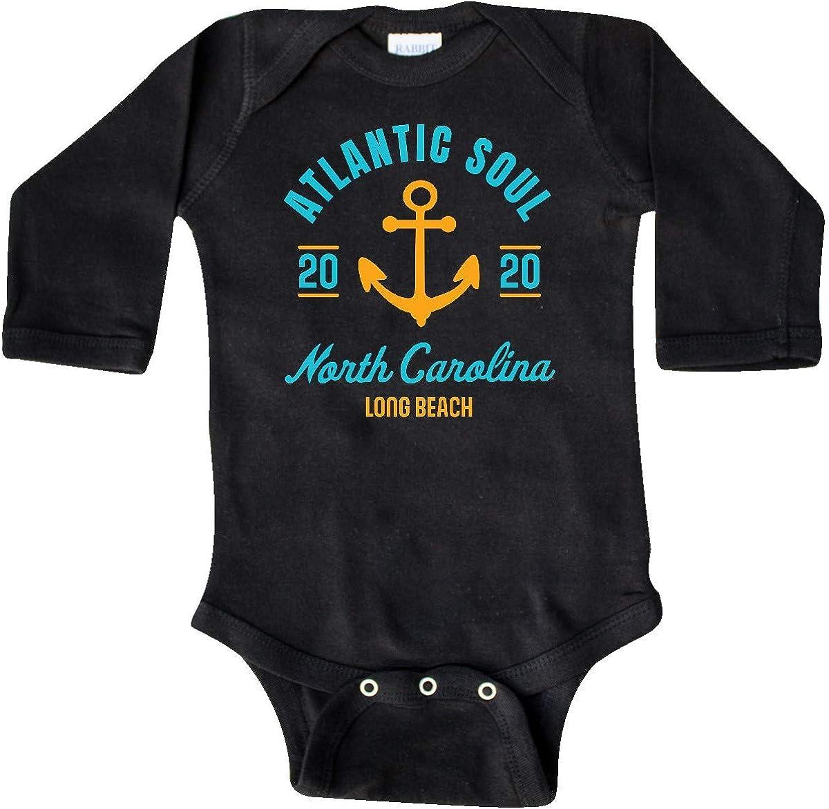 inktastic Atlantic Soul North Carolina Long Beach 2020 with Long Sleeve Creeper