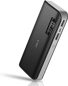 EMNT 15000mAh Cargador Móvil Portátil Batería Externa Power Bank para iPhone X 8 7, 7 Plus, 6s, 6s Plus, iPad, Samsung Galaxy S7, Samsung Galaxy S6(Bianca): Amazon.es: Electrónica