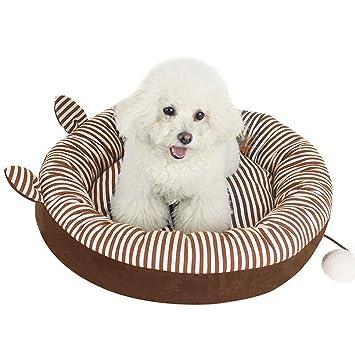 BERMEL Cama para Perros, Sofá para Perros, Cesta para Perro Invierno Mantener Caliente para Mascotas con un Peso de 2.5-50 KG(Brown): Amazon.es: Productos ...
