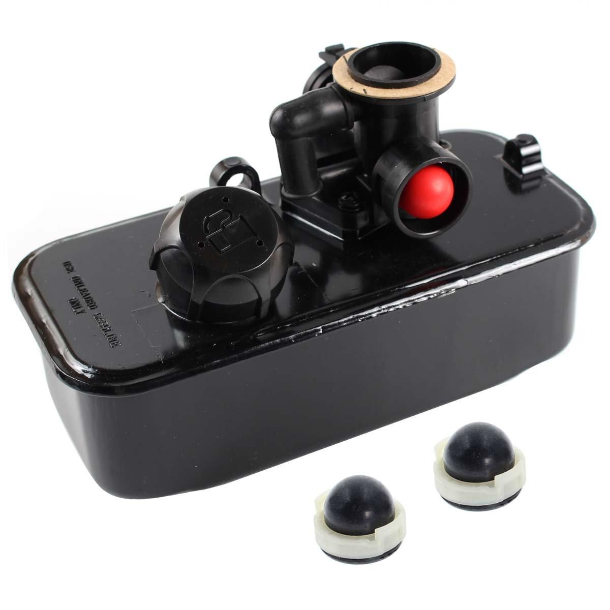 Carbhub 494406 Fuel Tank and 795477 Carburetor for Briggs & Stratton 498809 498809A 795469 794147 699660 794161 498811 Carb with Primer Bulb by Carbhub