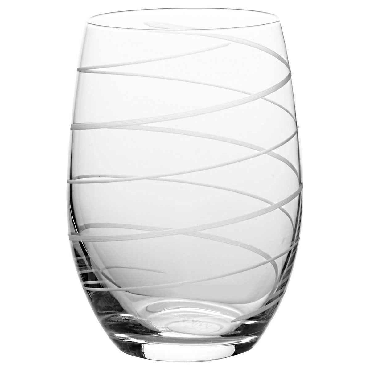 Mikasa Cheers Stemless Etched Wine Glasses, Fine European Lead-Free Crystal, 17-Ounces for Red or White Wine - Set of 6 by Mikasa (Image #8)