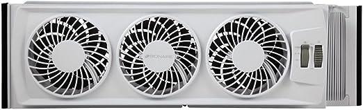 Bwf0502M-Wm Holmes Bionaire Thin Window Fan With Manual Controls