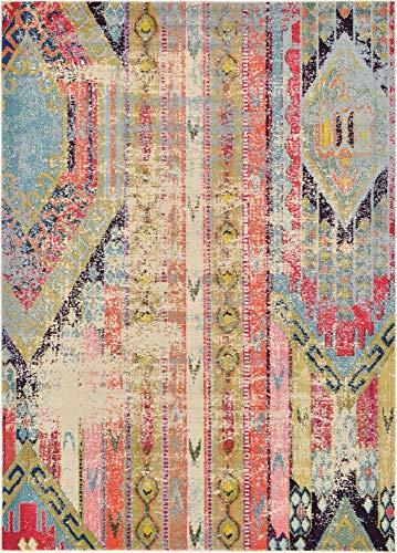 (Unique Loom Sedona Collection Distressed Southwestern Tribal Multi Area Rug (7' x 10'))