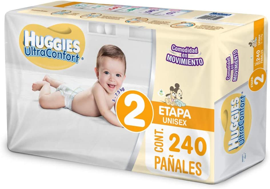 Huggies Ultraconfort Pañal Desechable