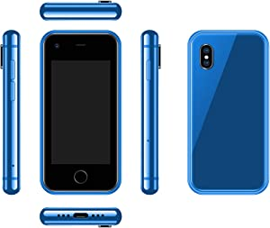SOYES 7S Android 6.0 OS 2.5 Inch Mini Phone Unlocked with ROM 1G RAM 8G,3G WCDMA Smart Phone (Blue)