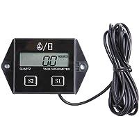 KKmoon LCD Digital Tacómetro/hora Medidor Calibrador Impermeable