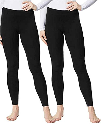 Small 32 Degrees Heat Ladies Base Layer Pant Black Size