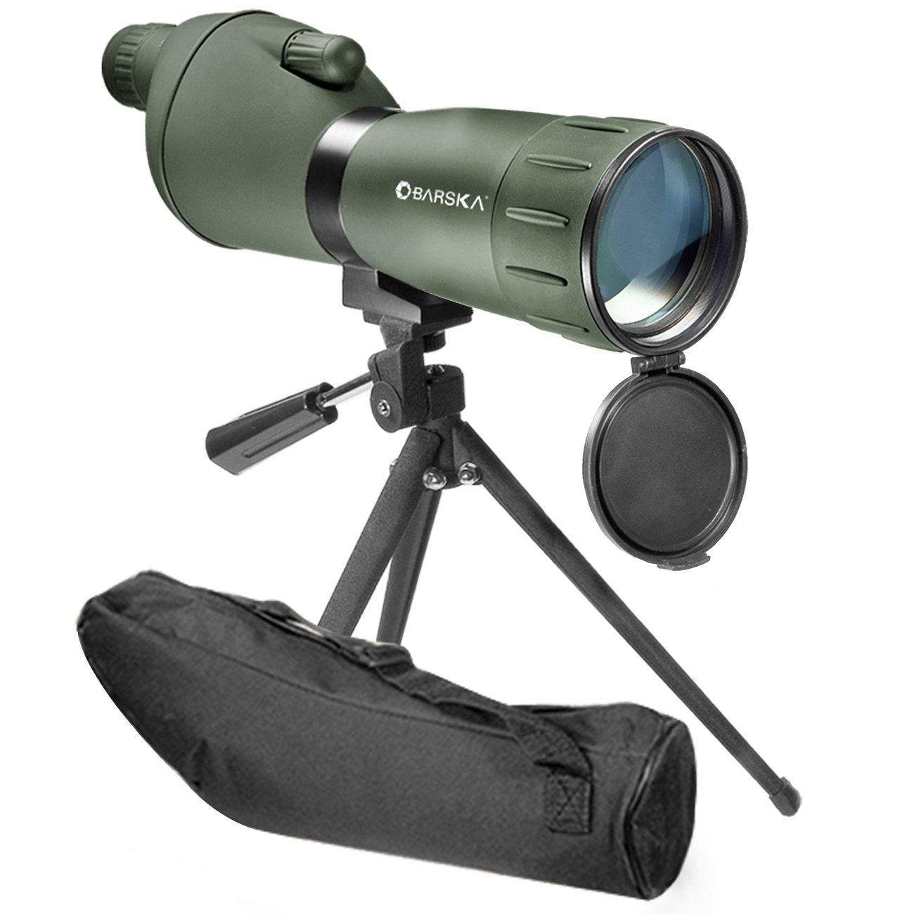 BARSKA 20-60x60 Zoom Colorado Spotting Scope (Green Finish) by BARSKA