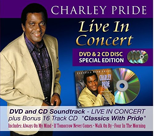 Price comparison product image CHARLEY PRIDE LIVE IN CONCERT 2CD / DVD SET