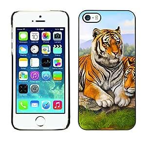 - NATURE AFRICA TIGER ANIMAL PAINTING CUTE - - Monedero pared Design Premium cuero del tir???¡¯???€????€?????n magn???&rsquo