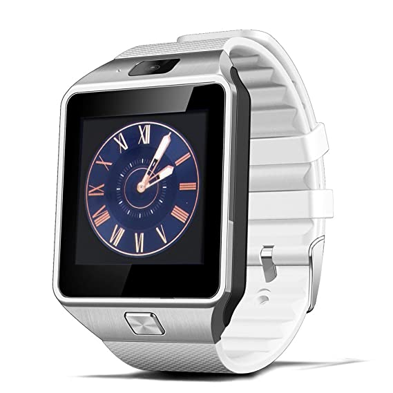 DZ09 Smart Watch Bluetooth Smartwatch Support SIM TF Card with Camera Message Notification for Android iOS iPhone Samsung LG Phones for Men Women Kids ...