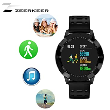 Zeerkeer CF58 Smartwatch-Impermeable Pulsera Inteligente Bluetooth ...