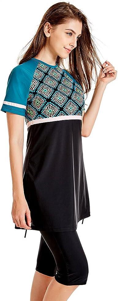 Surfanzug semi-muslimische Shorts Bademode Burkini Seafanny schlichter Badeanzug f/ür Damen