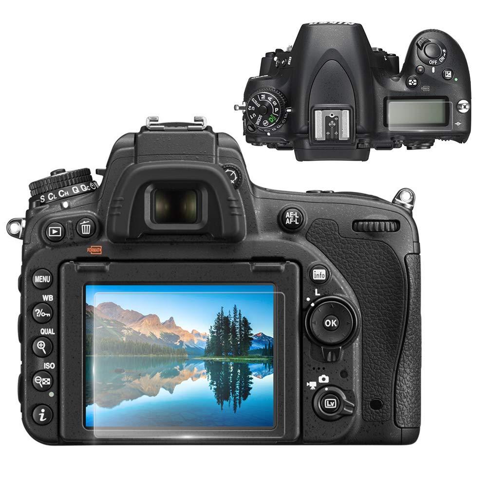 Tempered Glass 0.3mm 9H Hard Protective Shield Cover Designed for Nikon D600 D610 DSLR Camera