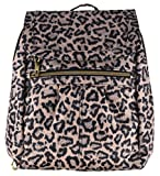 Travelon Anti-Theft Signature Slim Backpack (Leopard)