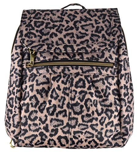 Travelon Anti-Theft Signature Slim Backpack (Leopard)