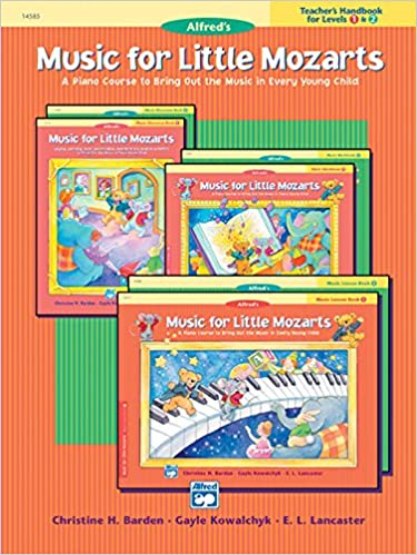 Music for little mozarts teachers handbook bk 1 2 a piano music for little mozarts teachers handbook bk 1 2 a piano course to bring out the music in every young child gayle kowalchyk christine barden fandeluxe Image collections