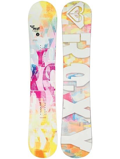 3d09a533022c Amazon.com   Roxy Sugar Rocker Girls Womens Snowboard 142