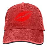 Sexy Lips Adult Cowboy Hat Baseball Cap Adjustable Athletic Making Gifts Hat for Men and Women