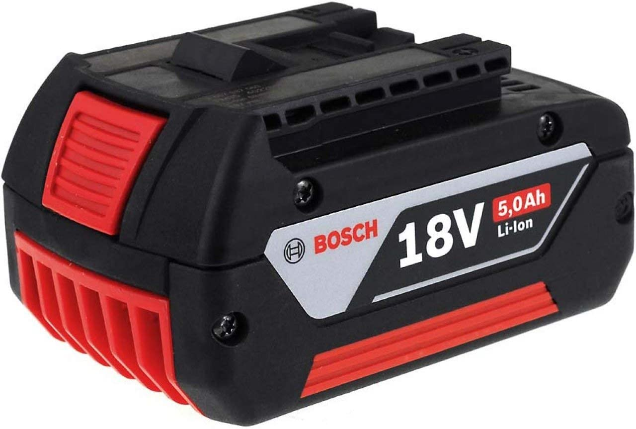 Batería para Bosch amoladora angular GWS 18 V-Li 5000 mAh Original, 18 V, Li-ion