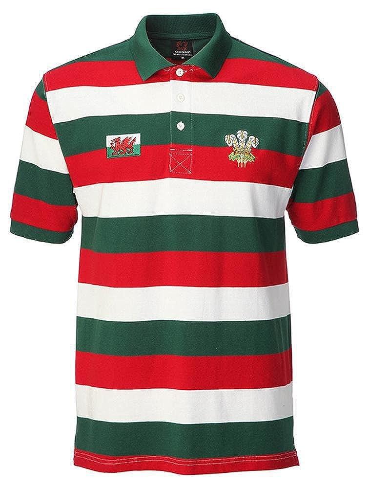 RGW - Camiseta polo con rayas multicolor multicolor xx-large ...