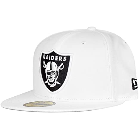 NEW ERA 59 FIFTY - Gorra NFL on Field Oakland Raiders Color Blanco ...