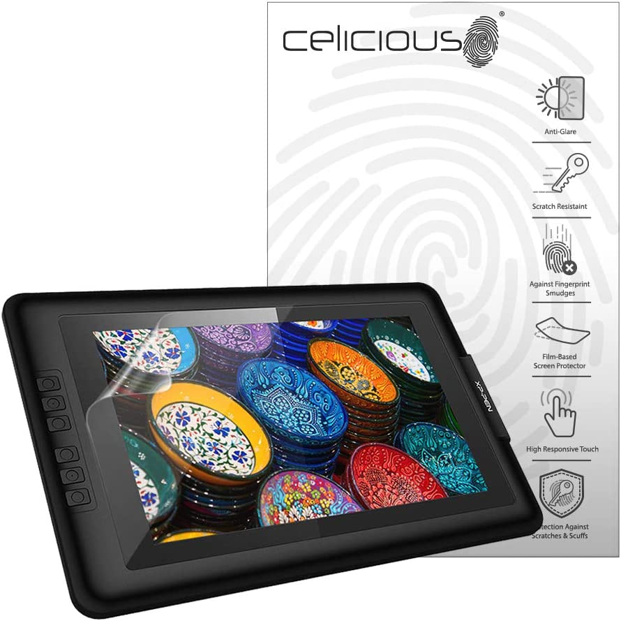 Pack of 2 Celicious Matte Anti-Glare Film Protector Compatible with XP-Pen Artist Display 22E Pro