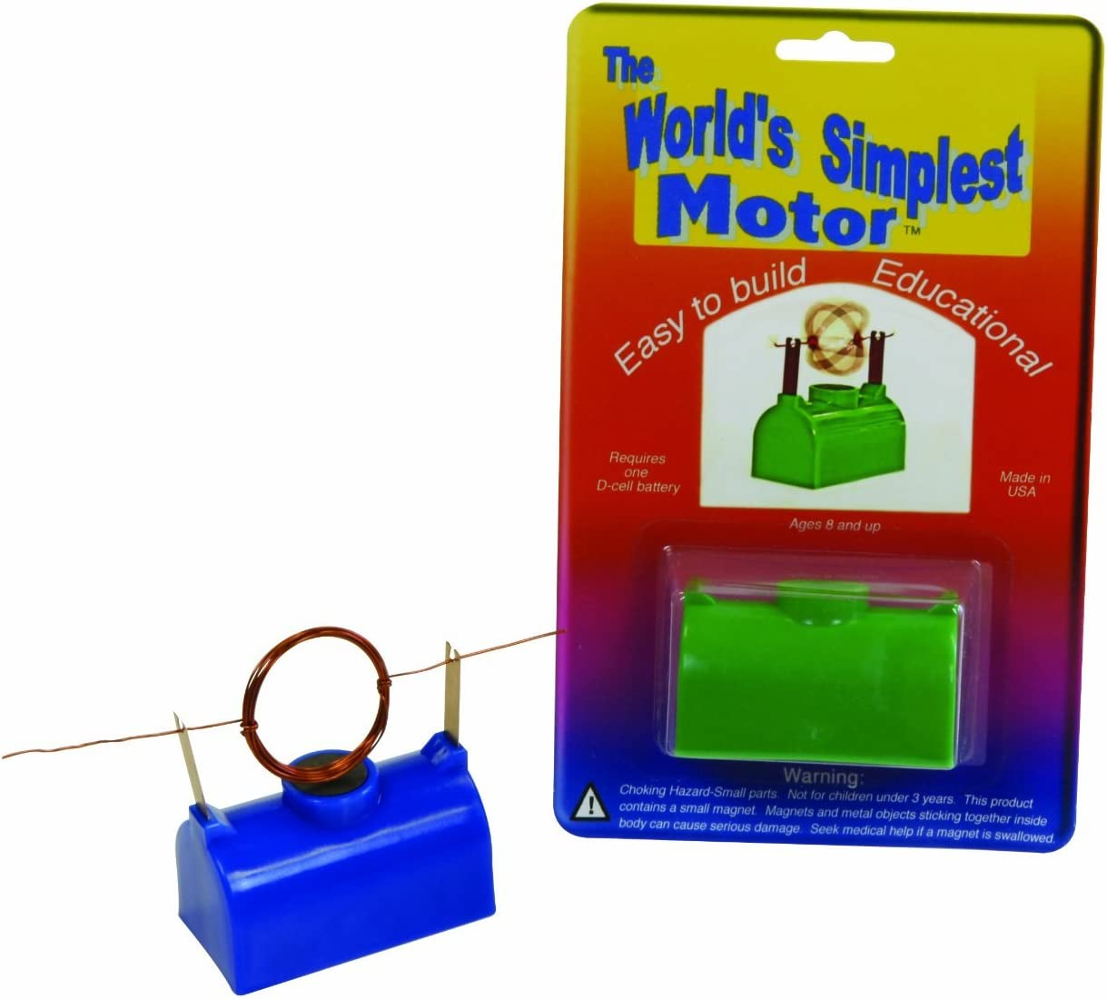 TEDCO Simplest Motor Colors May Vary 10103 Age 8+