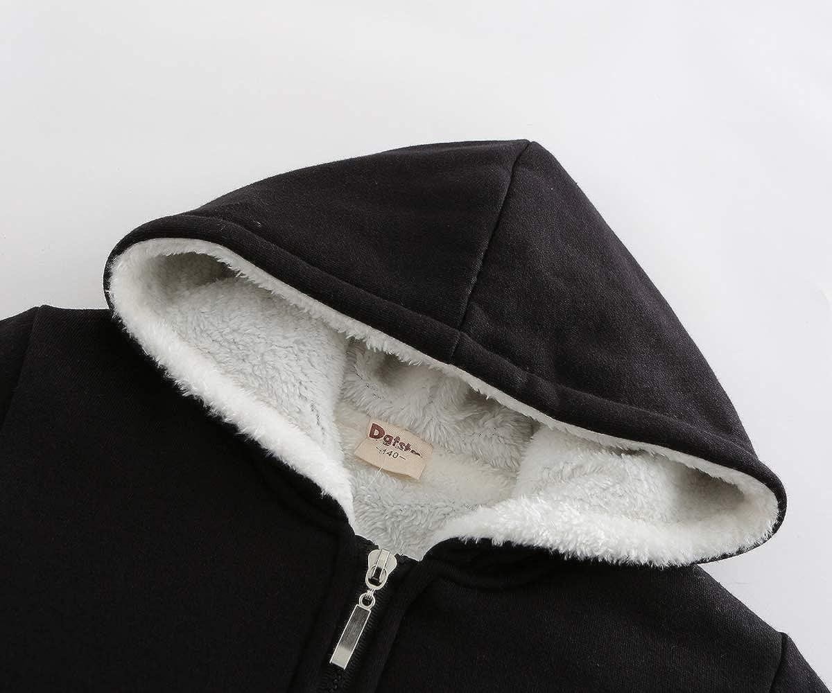 Undertale Hiver Chaud Coat Veste en Peluche /à Capuchon Doux for Enfants avec Manteau Chaud /épais Manteau dimpression Zipper /à Capuche for Les Filles et Les gar/çons Unisex Manteaux