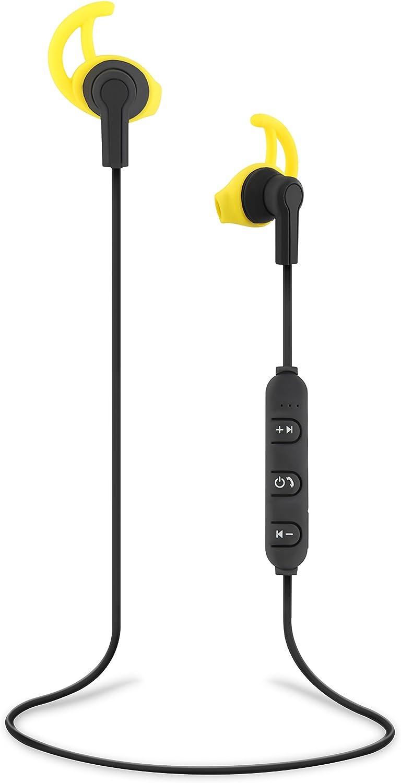 T'nB Sport - Auriculares inalámbricos Bluetooth con micrófono (resistente a salpicaduras) color negro