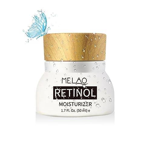 Pawaca Crema hidratante con retinol, con fórmula antiarrugas, con vitaminas A, C,
