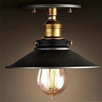 BAYCHEER Retro Vintage Deckenlampe Deckenleuchten Wohnzimmerlampen Kchenlampen Fr LED Glhmlampe Deckenleuchte