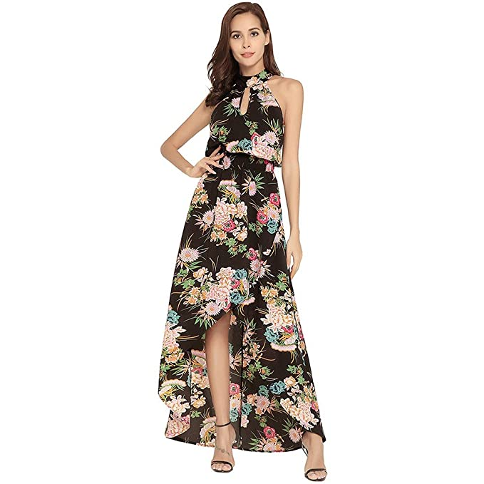 SEESUNGM Vestidos Vestidos De Las Mujeres De Las Faldas De Los Modelos De Ocio Flojo Largas