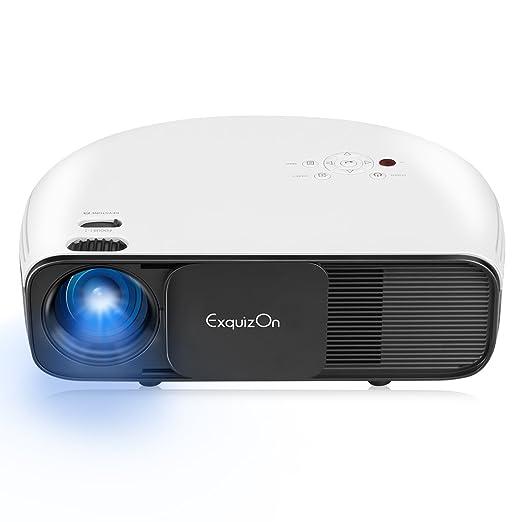 4 opinioni per ExquizOn CL760- LCD LED Proiettore 3200 Lumens 1080P HD con Risoluzione Nativa