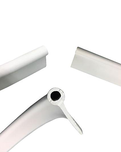 White Extruded Vinyl Awning Rail/Rope, Bead Rv Trailer