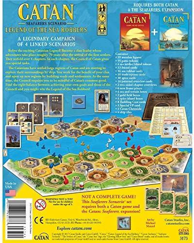 Mayfair Catan Legend of The Sea Robbers - English: Amazon.es: Juguetes y juegos