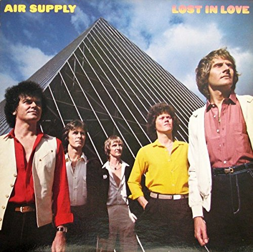 Air Supply - Lost In Love - Wizard Records , Big Time Phonograph Recording Co. LP