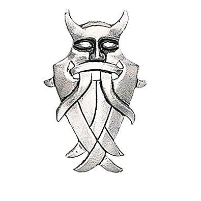HIST Odin de máscara amuleto - alcoba y confidencialidad: Amazon ...
