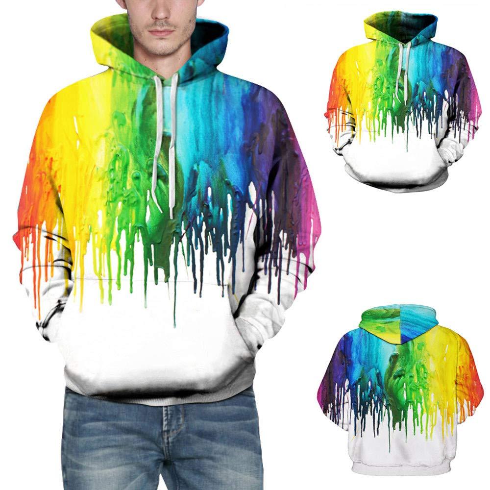 Felpe deportivo con capucha, Para hombre Unisex 3d pintura acuarela Impresión, sudadera cálida con capucha manga larga, Jersey Excelente hombre, ...