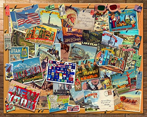 Springbok Puzzles - Lets Explore - 1000 Piece Jigsaw Puzzle - Large 30 Inches by 24 Inches Puzzle - Made in USA - Unique Cut Interlocking Pieces