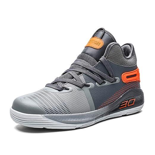 FJJLOVE Zapatos de Baloncesto de los Hombres, Rendimiento ...