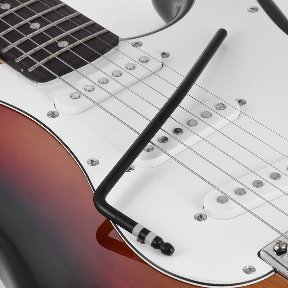 Whammy Bar Estilo de Inserción Directa Tremolo Trem Vibrato Arm Palanca de Manivela para Guitarra Eléctrica Puente del Trémolo Insertar Parte Diámetro 6mm ...