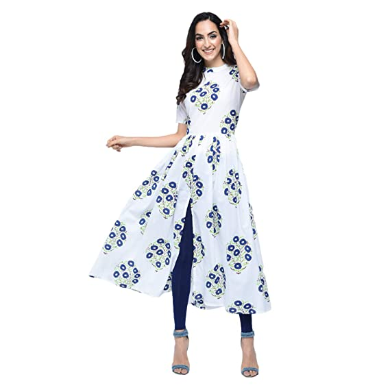 79e0a960c42 stylum casual floral printed women s kurti  Amazon.in  Clothing ...