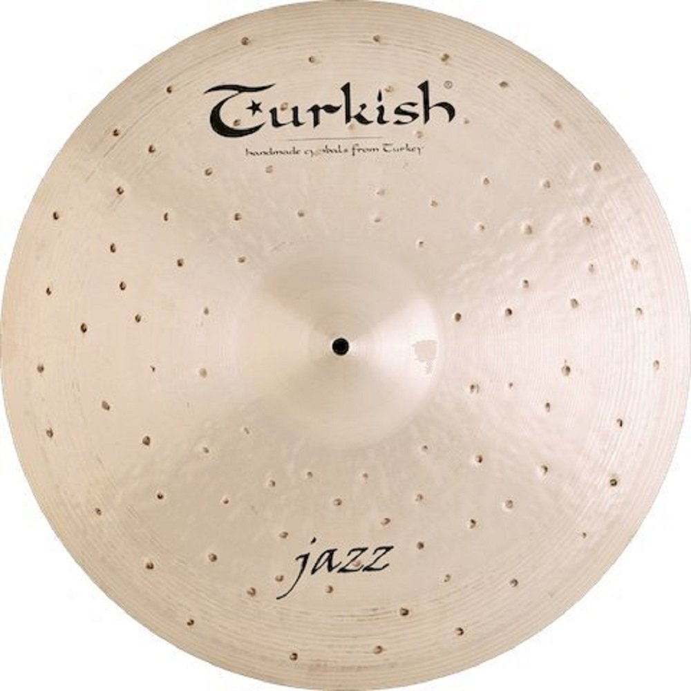 Turkish Cymbals Jazz Series 21-inch Jazz Ride * J-R21   B072RV875M