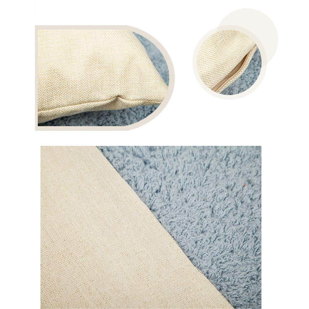 MIFAVOR Halloween Pillow Covers 18x18 Set of 4 Linen Blend Square Burlap Decorative Throw Pillowslip Cushion Cover