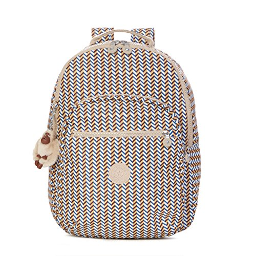 Kipling Seoul Prt Backpack - Zest Yellow - One Size
