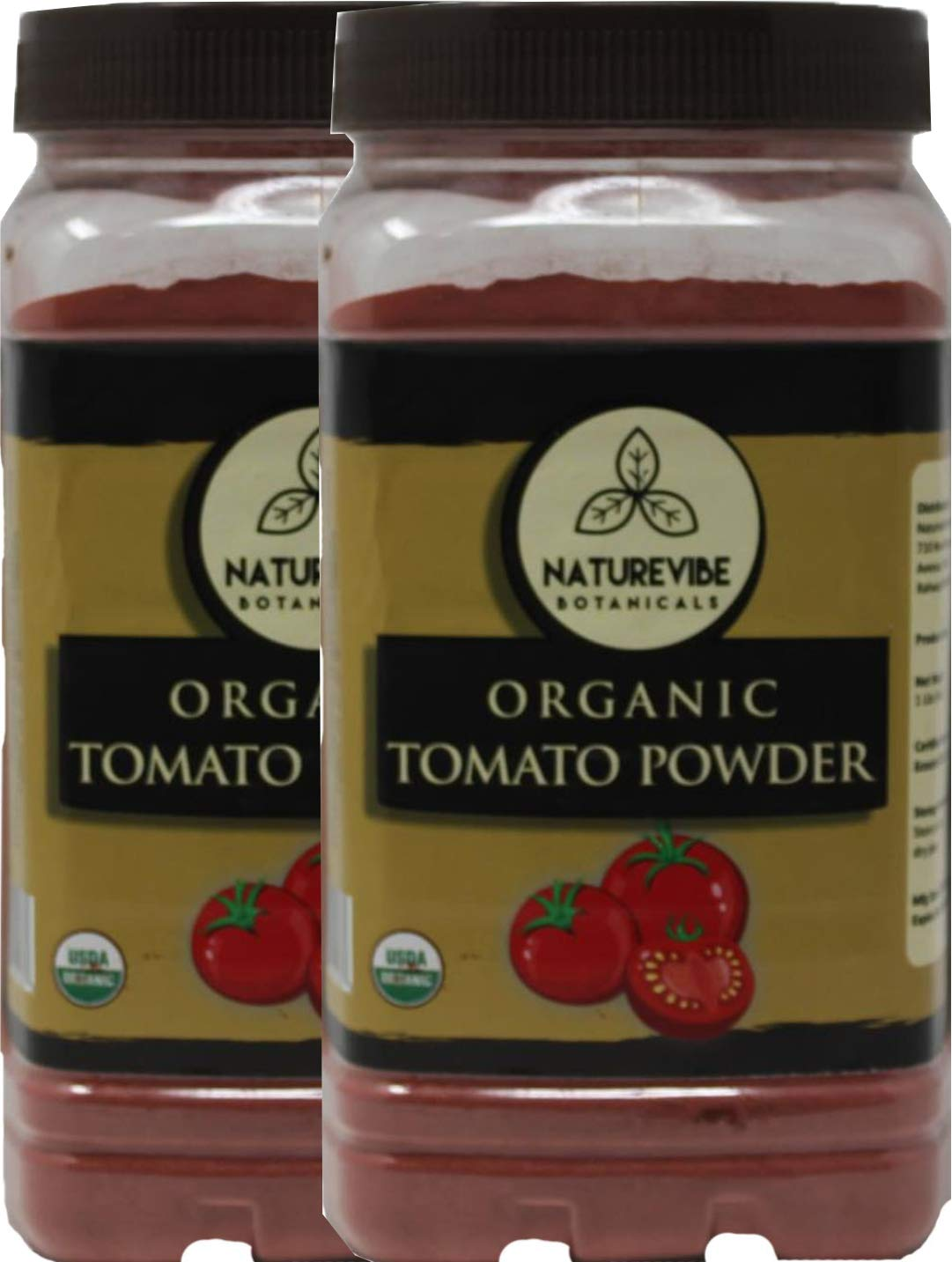 Naturevibe Botanicals Organic Tomato Powder (2lbs) (2 Pack of 1lbs each) | Non GMO | Boosts Digestion| Adds flavour and taste....
