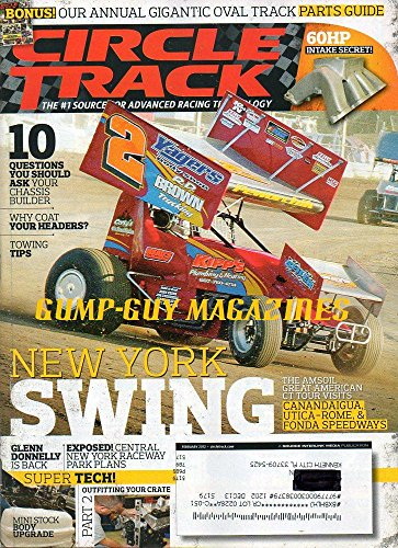 Circle Track #1 Source For Advanced Racing Technology February 2012 Magazine NEW YORK SWING: AMSOIL GREAT AMERICAN CT TOUR VISITS CANANDAIGUA, UTICA-ROME & FONDA SPEEDWAYS
